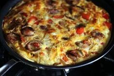 Great flavor and easy to make frittata recipe