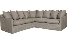 Lee Industries Yaupon Sectional Offers Maximum Seating For Your Outdoor  Entertaining Area. This Sofa Sectional Includes A Right Arm Facing Love Sea