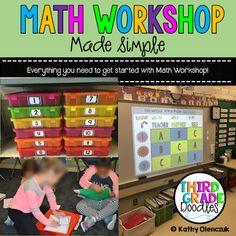 Math Workshop Made Simple - Third Grade Doodles