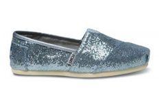 Sparkly blue toms
