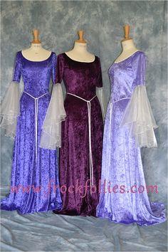 Bruidsmeisje Dress, middeleeuwse Bruidsmeisjesjurk, Elven Dress, gewaad Medievale, Pre-Raphaelite jurk, heidense Gown, Hand vasten Gown, middeleeuwse jurk, Megan Handgemaakt in Engeland door een ervaren theatrale Tailleur du, deze middeleeuwse jurk is beschikbaar om in een ruime keuze