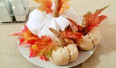 jesenná dekorácia - tekvičky Ale, Wreaths, Halloween, Home Decor, Decoration Home, Door Wreaths, Room Decor, Ale Beer, Deco Mesh Wreaths