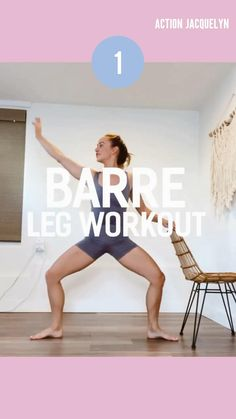 Barre Workout, Gym Workout Tips, Fitness Workout For Women, Flexibility Workout, Easy Workouts, Workout Videos, Wellness Fitness, Yoga Fitness, Fitness Tips