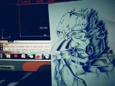 #art #pendrawing #hero #ironman #sketch