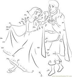 Snow White Fairy Tale Dot to Dot