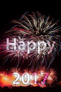 Descargar - Feliz año nuevo 2017 — Imagen de stock #94426416