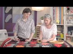 Hand Quilting with Marianne Fons Part 1 - YouTube