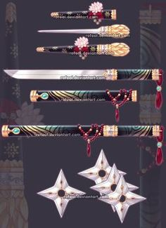 Weapons favourites by TaCDLunaria91 on DeviantArt