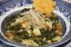 Deep South Dish: Southern Style Turnip Greens with Salt Pork