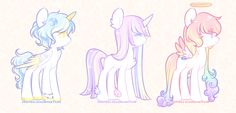 [Angel Ponies] [AUC: CLOSED] by OniPonii on DeviantArt
