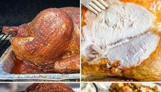 Cooking Turkey in a Bag {Tips for Best Roasted Turkey} Tastes of Lizzy T Turkey Bag Recipes, Juicy Turkey Recipe, Chicken Recipes, Best Roasted Turkey, Grilled Turkey, Smoked Turkey Rub, Turkey Cooking Times, Turkey In Roaster, Turkey Brine