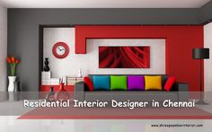 We offer Residential interior designing services for all type of Rooms. #ResidentialInteriorDesignerInChennai #ShreePaambanInterior