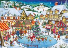 Joy of Christmas, 1000 Piece Jigsaw Puzzle Made by Ravens…