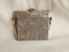 silber alte marokkanische kitab.koran behälter von etuareg auf Etsy