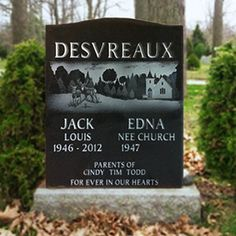 Honoring the life of a loved one through artistic etchings on eternal, beautiful granite.