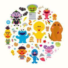 Cute Characters, Cartoon Characters, Fairy Tale Story Book, Sesame Street Characters, Jim Henson, All Things Cute, Freelance Illustrator, Elmo, Fun Projects