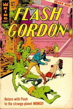 1966 Alley Award - Cover - Flash Gordon #1, by Al Williamson  (King Comics)