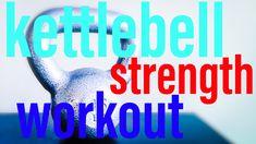 A Quick, Full-Body Kettlebell Strength Workout using only One Kettlebell. #kettlebell #kettlebellworkout #workout #fullbody #strength #doanywhere #quickworkout #quick #minimalequipment