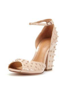Sherman Peep-Toe Sandal by Schutz at Gilt