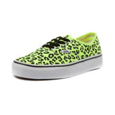 Vans Authentic Leopard Skate Shoe in Yellow at Shi by Journeys