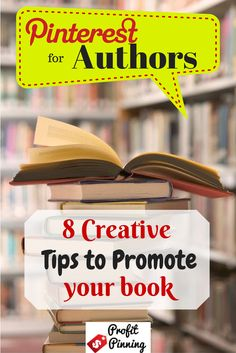 Pinterest for authors!  Pinterest is the #1 ecommerce site & books are in the top 10 for selling on Pinterest.  This blog article has some great creative marketing tips for authors to promote their books. #pinterestmarketing #authors
