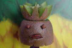 """Mr. Greens Welt: Fruit Art """"Kiwi König"""""""