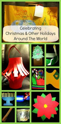 Christmas Around The World Unit - Includes suitcase passport country crafts (China Italy Israel Ethiopia Holland Germany England Sweden Mexico France) and more! Holiday Themes, Christmas Activities, Holiday Crafts, Christmas Crafts Around The World, December Holidays Around The World, Winter Activities, Holiday Traditions, Fun Activities, Around The World Theme