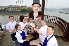 Some of the chefs working on the 2013 All-Ireland Chowder Cook-Off, April Actons Hotel, Kinsale, Ireland. Irish Recipes, New Recipes, Irish Restaurants, Ireland Food, Chef Work, Cook Off, Chefs, Chowder, 21st