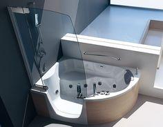 Eckbadewanne mit Dusche 140 cm Eckbadewanne mit Duschbereich 150 ... | {Eckbadewanne mit dusche 53}