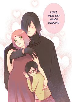 Uchiha family love by litaone on DeviantArt