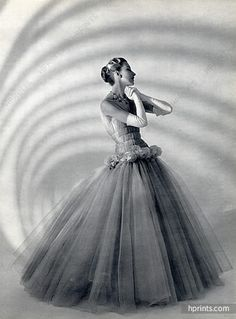 Grès (Germaine Krebs) 1954 Evening Gown