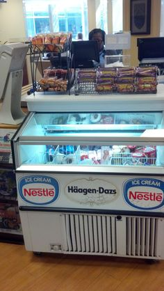 Hospitals promote health and wellness. So why is this one pushing ice cream at checkout in its cafeteria? (Johns Hopkins Hospital, Baltimore, MD, 9/14)