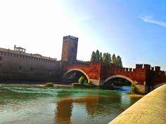 Na Janelinha porque eu quero ver tudo: Verona e a Ponte Scalingero