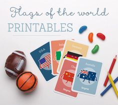 *FREE* Flags of the World Printable