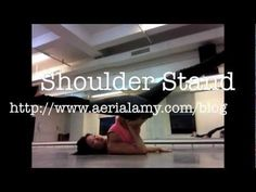 Shoulder stand prance - i like this for floorwork in chair class