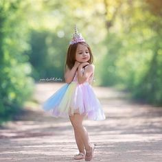 Kids Birthday Photography, Little Girl Photography, Toddler Photography, Unicorn Dress Girls, Birthday Girl Pictures, Little Girl Photos, Toddler Photos, Girl Photo Shoots, Photographing Kids