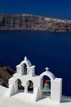Cliffside Church, Santorini, Greece