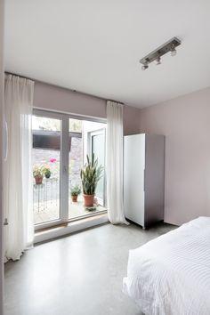 Planchers de béton polis Condo, Divider, Room, Design, Furniture, Home Decor, Projects, Bedroom, Decoration Home
