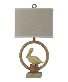 79.99-Add this lamp to your space to bring coastal-inspired elegance to your décor.