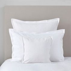 The White Company Vintage Etienne Cushion Cover Small Cushion Covers, Small Cushions, Bed Cushions, White Cushions, Throw Pillows, Decorative Cushions, White Pillow Cases, Chart Design, The White Company