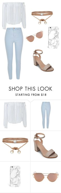 """Dreaming of Marble & Baby Blue"" by corinthiaclay on Polyvore featuring J.O.A., River Island, ALDO and ZALORA"