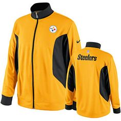 Get this Pittsburgh Steelers Empower Dri-Fit Performance Full-Zip Jacket at  ThePittsburghFan.com 75c5d41a8