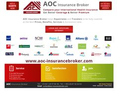 AOC Expatcare comparisons for expatriates and travelers