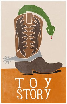 """Toy Story by Travis English. Haha. """"There's a snake in my boot!"""""""
