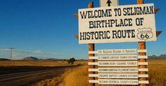 Seligman, Arizona  Fun Run 2012, here we come! Route 66 Attractions, Old Route 66, Route 66 Road Trip, Historic Route 66, Travel Route, Travel Usa, Highway Road, Route 66 Arizona, Arizona Usa