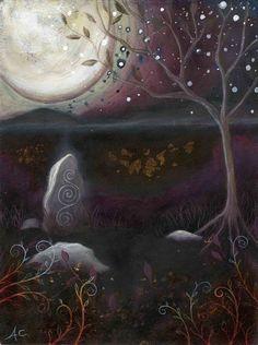 Sacred. Art print by Amanda Clark.