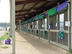 Horse Stall decorations for State Fair | Close Enough Stables - Va. State 4-H Shows