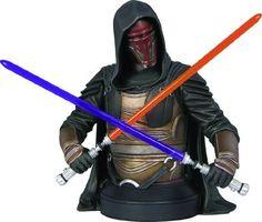 Gentle Giant Studios Star Wars: Darth Revan Mini Bust by Gentle Giant Studios. $59.99. Cast in high-quality polystone. Limited edition. A Gentle Giant sculpt. Based on the character from the hit Star Wars: Knights of the Old Republic video game. Comes with a Certificate of Authenticity. From the Manufacturer                A Gentle Giant Sculpt. Darth Revan is one of the most important characters in the Star Wars expanded universe. Contributing to the mass genocide of the...