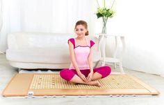 Hot Sale Health Care Natural Jade Cushion Beauty Jade Mattress Germanium Stone Far Infrared Heating Mattress Size 70cmX180cm