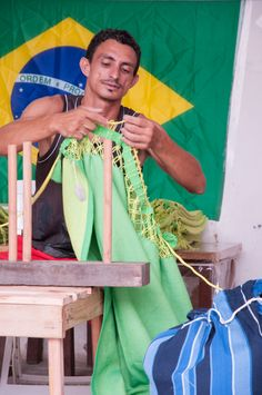 Every #Brazilian #hammock is a piece of national identity and hammock #tradition